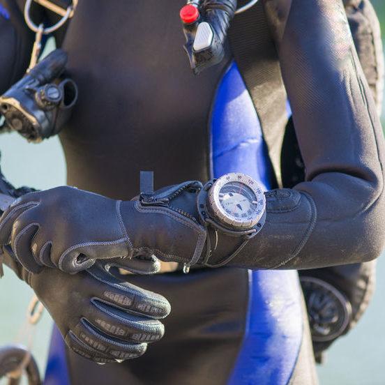 43130864 - closeup of a divers's gear